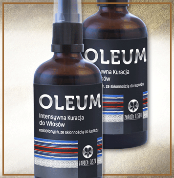 Oleum (włosy osłabione, łupież)