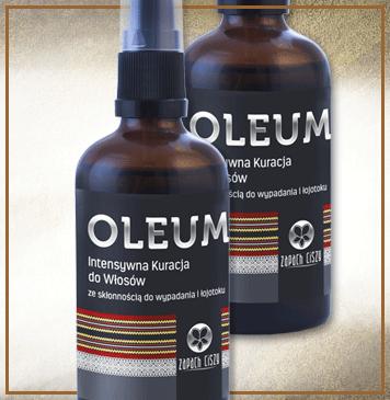 Oleum (wypadanie włosów, łojotok)